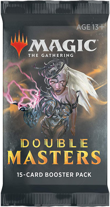 Magic The Gathering Double Masters Draft Booster CDU
