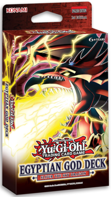 YGO Egyptian God Deck - Slifer