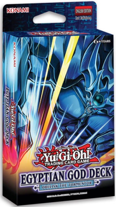 YGO Egyptian God Deck - Obelisk