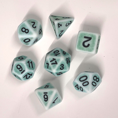Poly Dice - Ancient - Pine Green