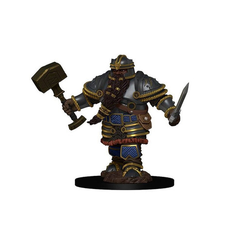 Icons of the Realms - Dwarf - Male - Fighter