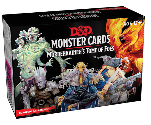 D&D Mordenkainen's Tome of Foes Cards
