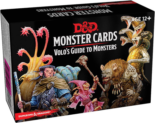 D&D Volo's Guide to Monsters Cards