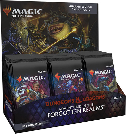 MTG: Adventures in The Forgotten Realms Set Booster CDU
