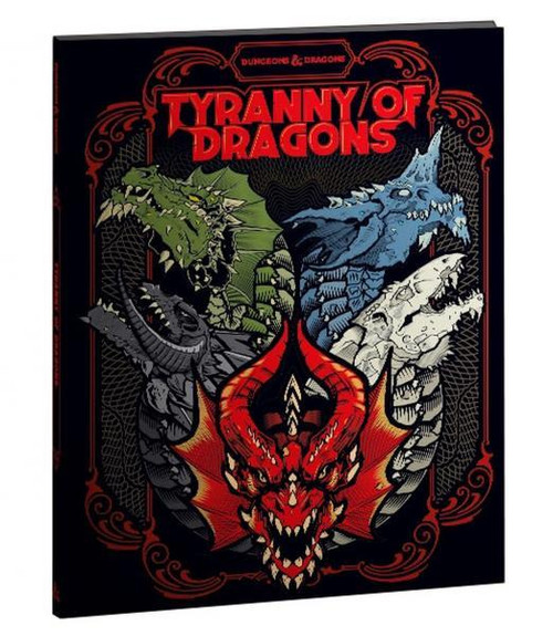 D&D Tyranny of Dragons (Hoard of the Dragon Queen/The Rise of Tiamat) Limited Edition Cover (DDN)