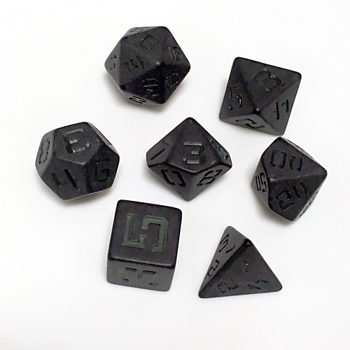 LP F-117 Stealth Matt Grey Poly Dice