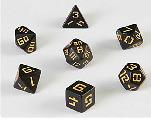 LP P3 Black with Amber Poly Dice
