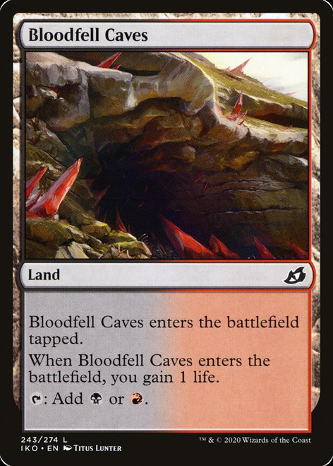 Bloodfell Caves Foil (iko)