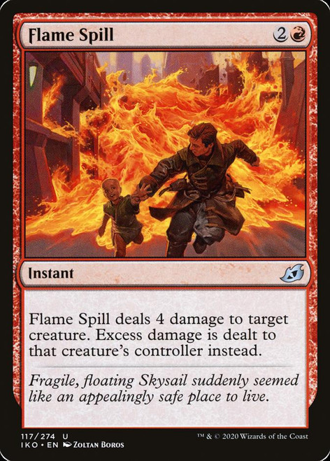 Flame Spill Foil (iko)