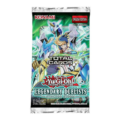 YGO Legendary Duelists Synchro Storm Booster