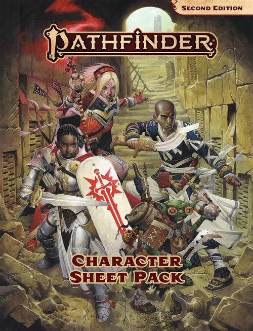 Character Sheet Pack: Pathfinder RPG Second Edition