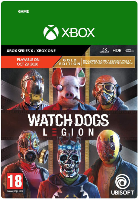 Watch Dogs Legion Gold (XB1)