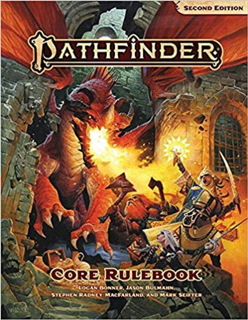 Core Rulebook Hardcover: Pathfinder RPG Second Edition