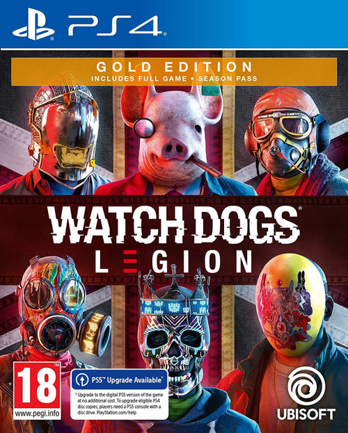 Watch Dog Legion Gold (PS4)