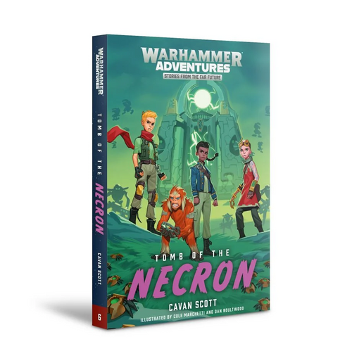WARPED GALAXIES TOMB OF THE NECRONS Paper Back