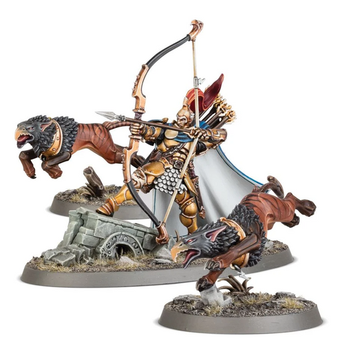 STORMCAST ETERNALS KNIGHT-JUDICATOR WITH GRYPH-HOUNDS