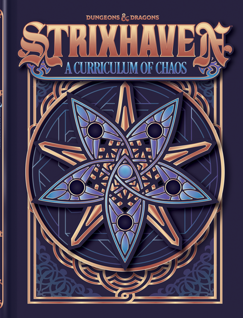 Strixhaven Curriculum of Chaos Alternate Cover Dungeons & Dragons