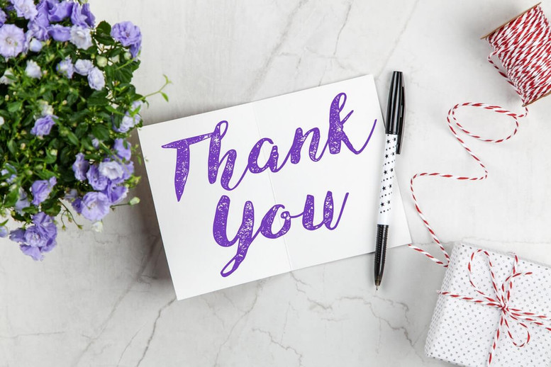 Message Ideas for Thank You Flowers