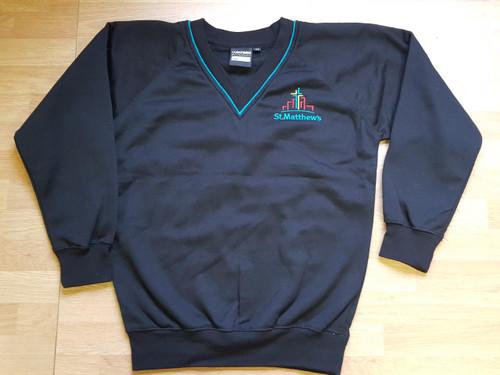 St. Matthew's Children's V-Neck Sweatshirt