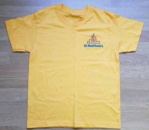 St Matthew's Nursery Gold T-shirt