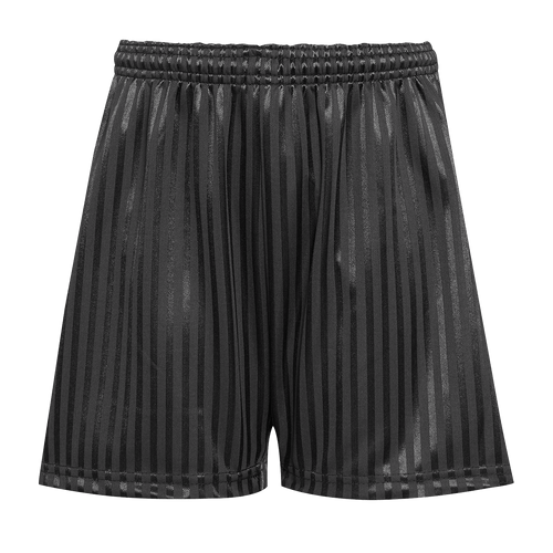 St. Matthew's Black PE Shorts