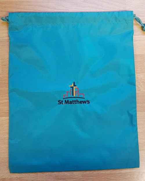 St. Matthew's Jade PE Bag