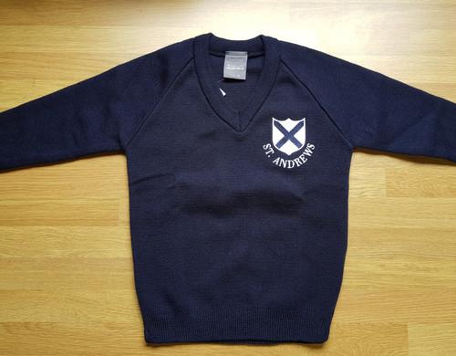 St. Andrew's V-neck Sweater