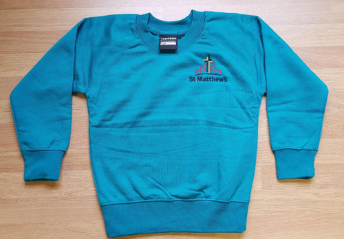 St. Matthew's  Adults Jade PE Sweatshirt