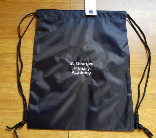 St George's Navy PE Bag
