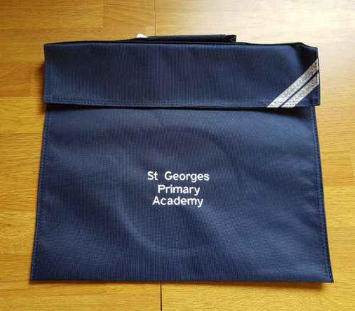 St George's Navy Book Bag