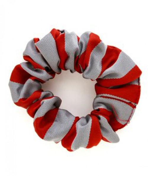 School Scrunchie Red/White