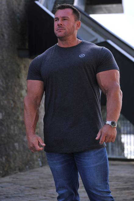 Core Muscle Apparel T-Shirt - Charcoal