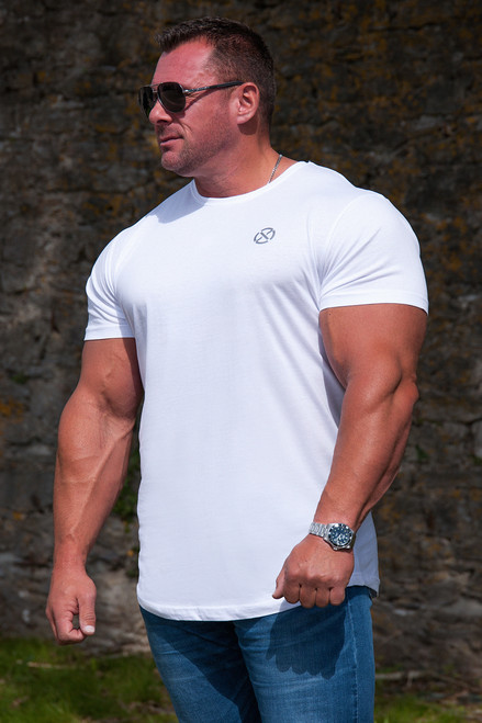 Core Muscle Apparel T-Shirt - White