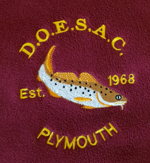 D.O.E.S.A.C Embroidered Hoodie