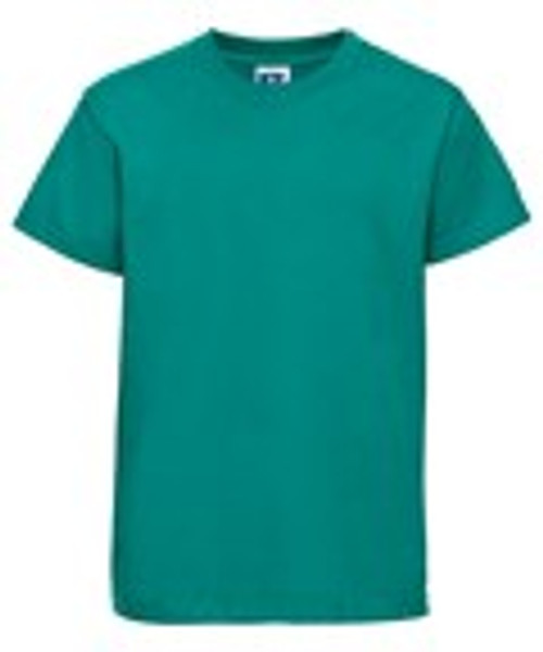 Mill Ford School Embroidered Green  Child's T-Shirt(Thursday)