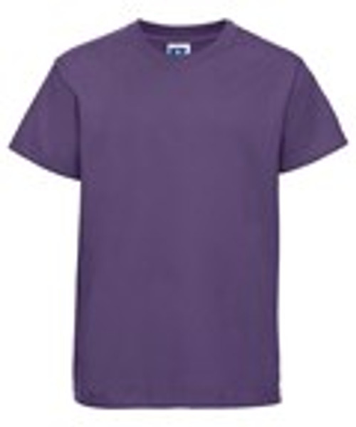 Mill Ford School Embroidered Purple  Child's T-Shirt (Friday)