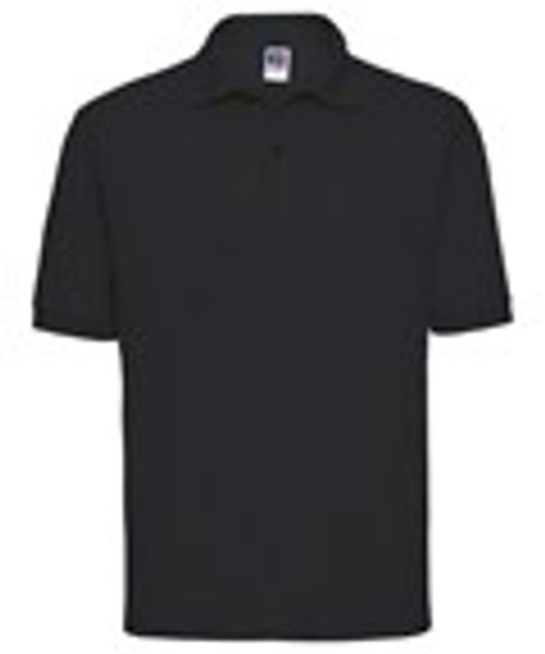 Mill Ford School Embroidered Black  Staff Polo