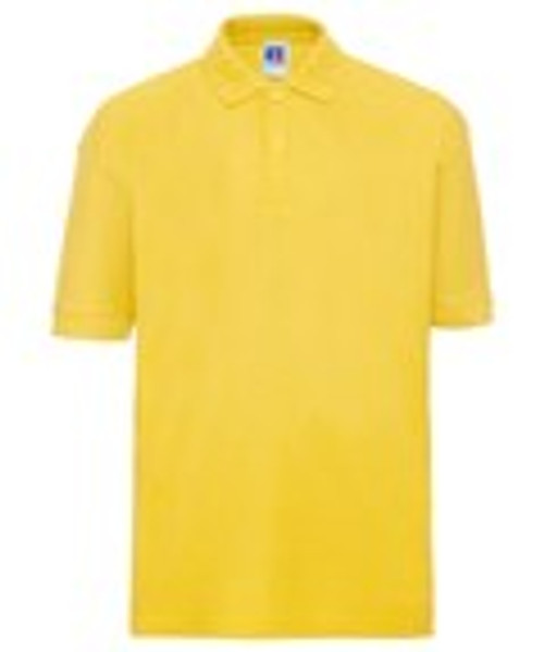 Mill Ford School Embroidered Yellow Polo Adult (Monday)