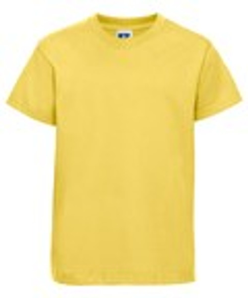 Mill Ford School Embroidered Yellow T-Shirt Adult (Monday)