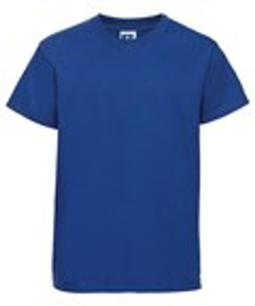 Mill Ford School Embroidered Blue T-Shirt Adult (Tuesday)