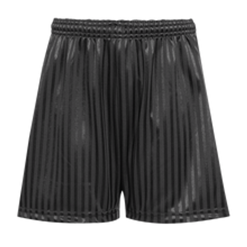 Mill Ford School Child's Black PE Shorts