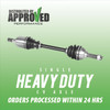 Front Right CV Axle Shaft Assembly TRKARC-6016HD
