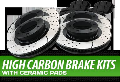 High Carbon Brake Kits With Ceramic Pads