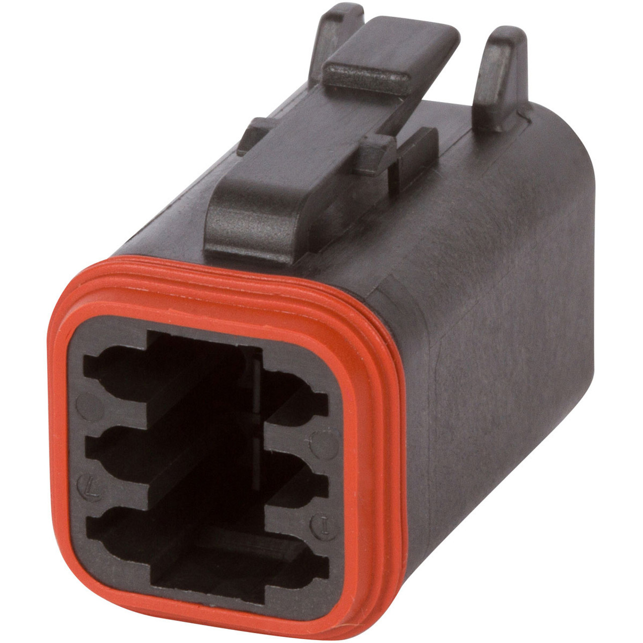 DT Enhanced Seal 3 Pin Black Connector Kit w// 14 AWG Solid Contacts