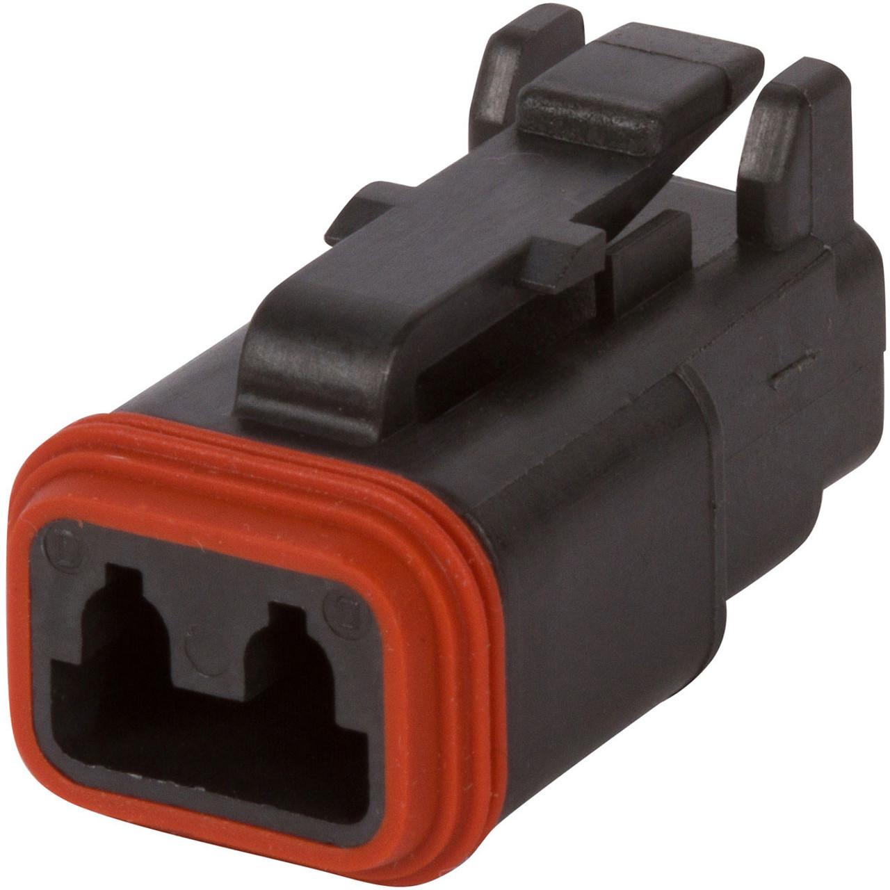 Automotive Connectors Cable Cavity Plug Dark RED 10 Pieces