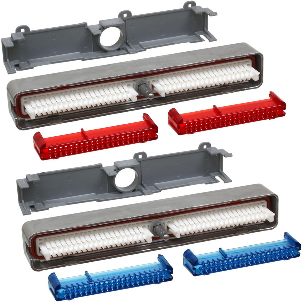 ECM/PCM Computer Connector C1 (Blue) + C2 (Red) Kit