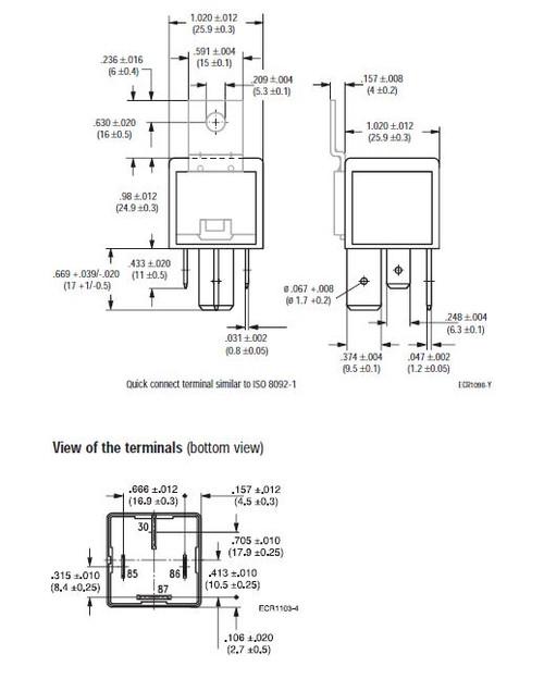 tyco 5 blade relay wiring diagram vf7 11f11 s01 tyco 4 blade automotive relay kit  vf7 11f11 s01 tyco 4 blade automotive