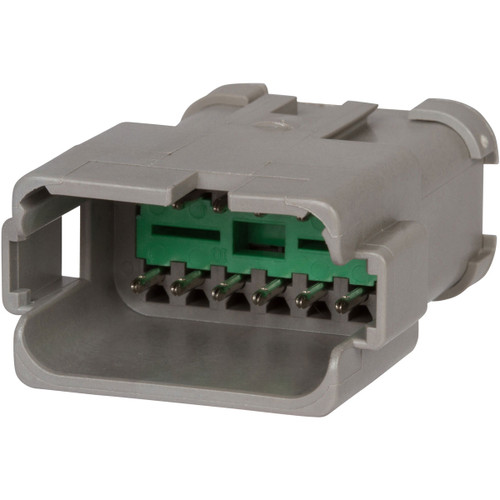 Pack of 10 DT04-12PA Gray DT Series- 12 Pin Receptacle