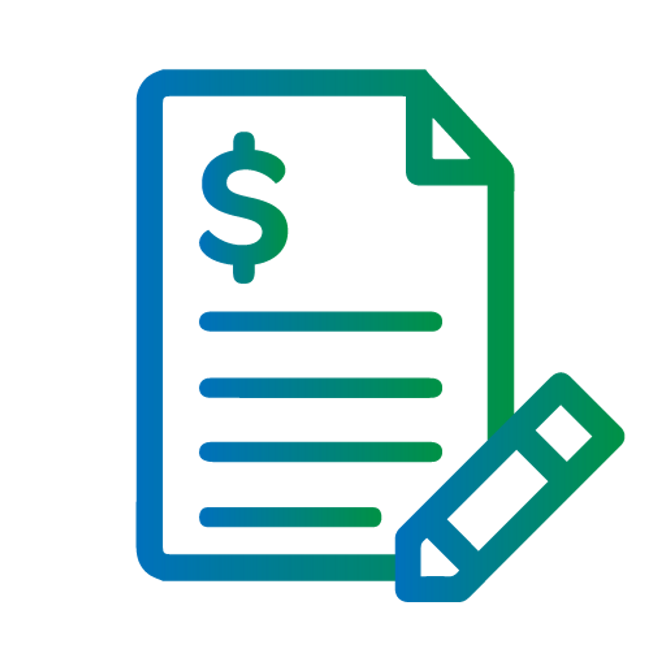 Free-Format Printed Invoices for Job Cost and Accounts Receivable