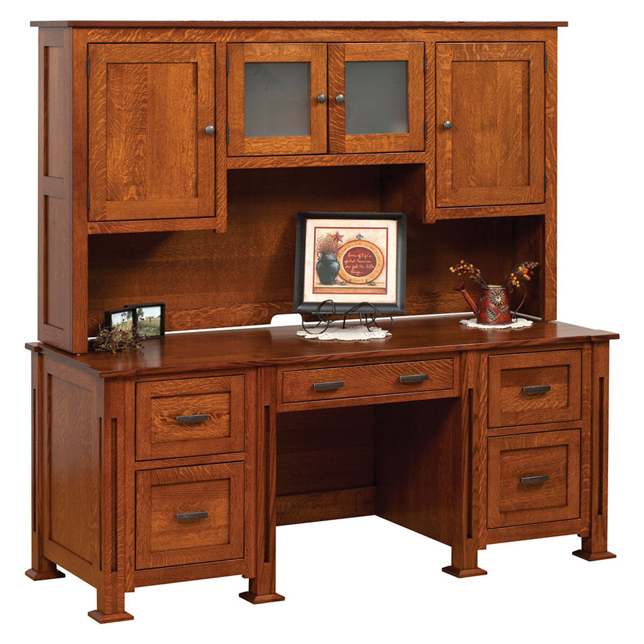 parker mission desk office furniture cherry valley furniture rh cherryvalleyamishfurniture com amish mission office furniture mission office furniture collection